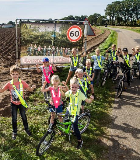 Kinderen uit buurtschap Oxe willen veilig naar school