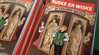 Van Eyck centraal in nieuwe Suske en Wiske, met gastrol voor bekende Gentse koppen