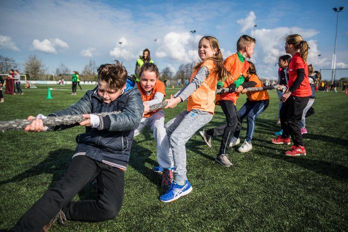 De Koningsspelen in Elst 2019.