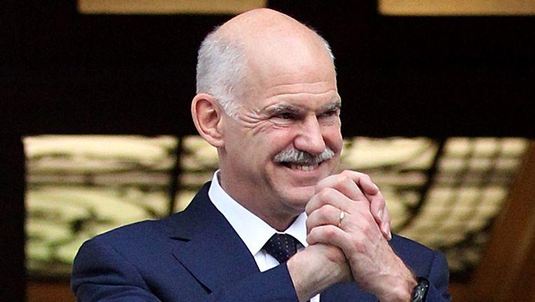 George Papandreou. Beeld afp