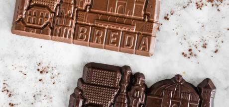 Chocolade in de vorm van Breda: de skyline is om op te eten