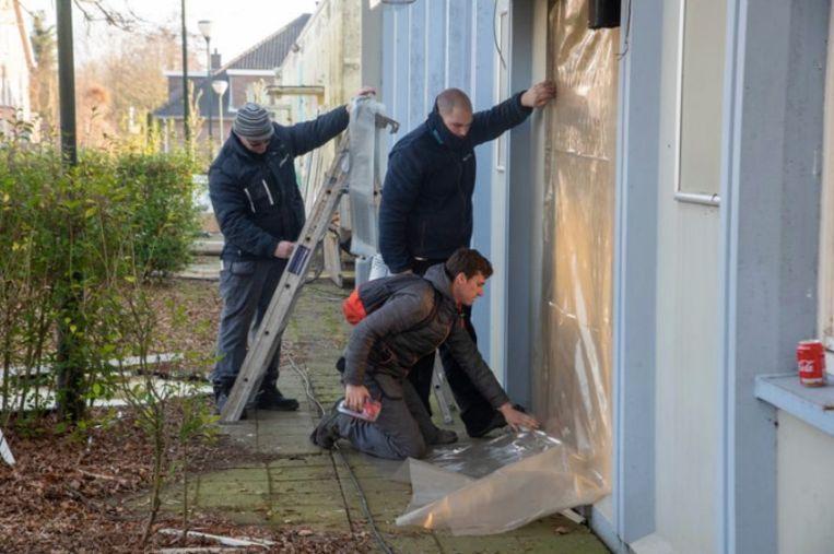 Archiefbeeld : De sloop en asbestwerken startten begin februari.