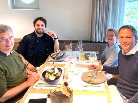 """Les trois négociateurs fédéraux ont reçu Conner Rousseau: """"Travail constructif"""""""