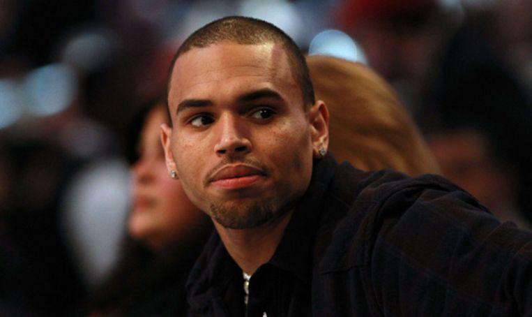 Chris Brown. Beeld null