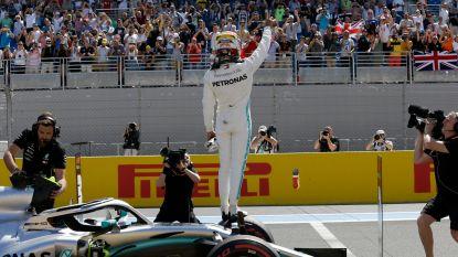 Lewis Hamilton maakt weer indruk: nieuwe pole na snelste rondje ooit op Le Castellet