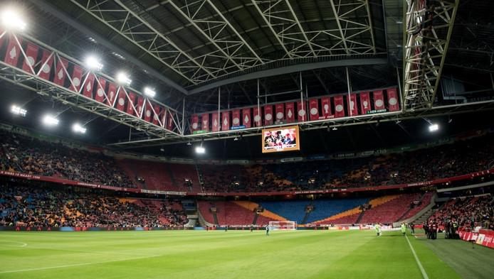 Toen de harde kern tegen Cambuur een deel van de wedstrijd boycotte om te protesteren tegen de onrust binnen de club, leek de Arena opeens wel érg leeg.