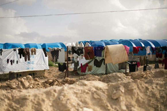 De kinderen verbleven in het Koerdische kamp al-Hol.