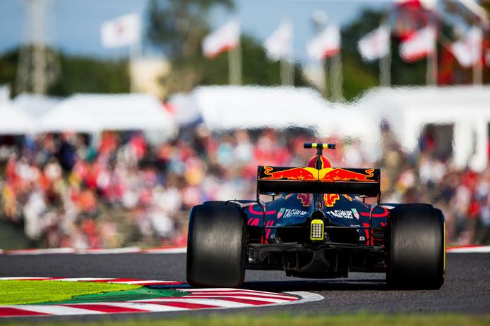 Na zijn fraaie zege in Maleisië was er in Japan een knappe tweede plek voor Max Verstappen.