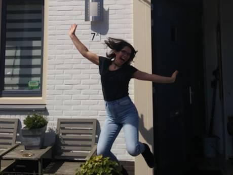Nadieh (18) slaagt summa cum laude ,,Feestje komt nog''