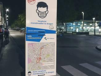 Twee tieners zonder mondmasker weigeren zich te identificeren