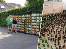 Bruidspaar Laura en Peter vindt 8.832 lege bierflesjes in hun nieuwe huis
