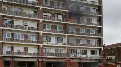 Brand op vierde verdieping appartementsgebouw