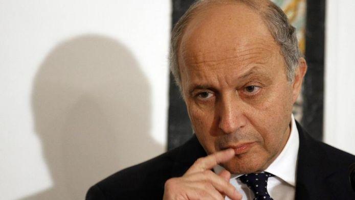 Laurent Fabius, ministre français des Affaires étrangères.