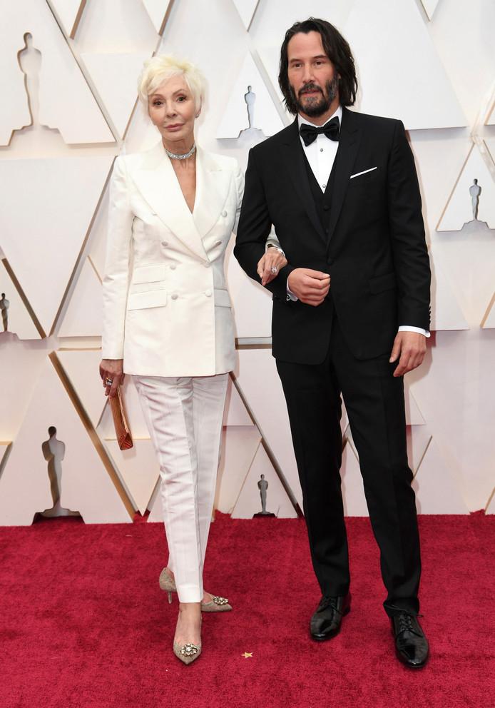 Patricia Taylor et Keanu Reeves