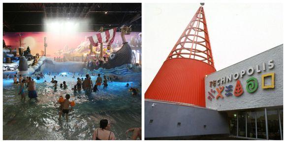Plopsa bouwt het nieuwe zwembad op grond van Technopolis.