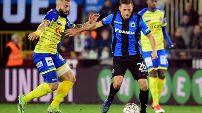 VIDEO. Twee owngoals en een discutabele penaltyfase: STVV en Club Brugge verdelen de buit na een boeiende partij