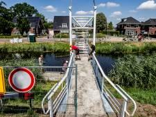 Ellenbroeksbrug herrijst op schaal in Lemelerveld