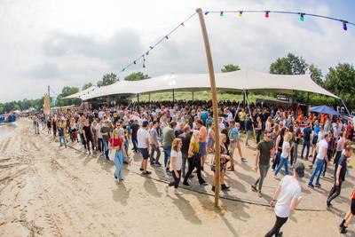 Dancefestival Ploegendienst bij Galderse Meren: Natuurplein toch niet naar de rechter