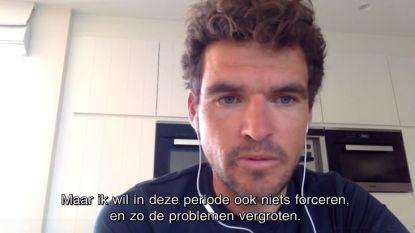 """Van Avermaet ondanks kniepijn klaar voor virtuele Ronde van Zwitserland: """"Goed genoeg om iets te laten zien"""""""