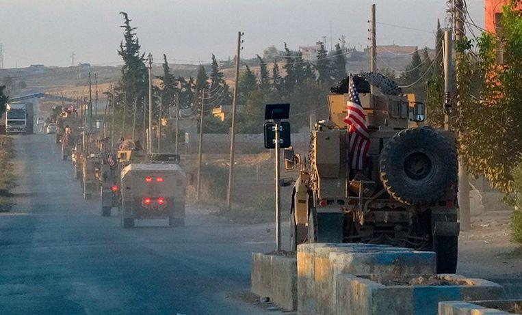 Turken beschieten Amerikaanse troepen