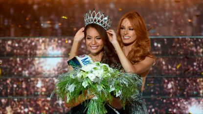 Pijnlijk moment tijdens Miss France-verkiezing, kandidates komen naakt in beeld