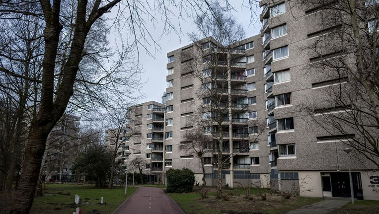 'Kamergewijze verhuur van appartementen in de Gouden Leeuw is een veiligheidsrisico.' Beeld Rink Hof