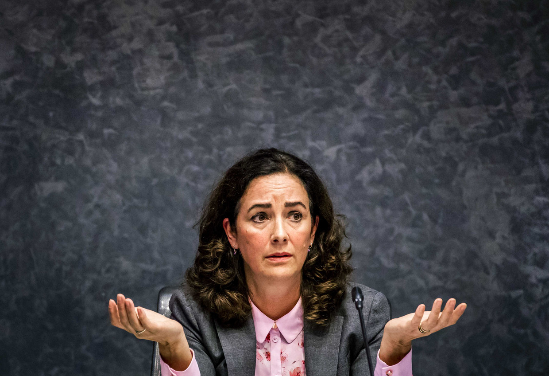 Femke Halsema: 'Ik bekleed een functie met symbolische macht. Een man is dan een klootzak, een vrouw een hoer. Maar die kerels tegenover mij waren in hun agressie wel confronterend.'