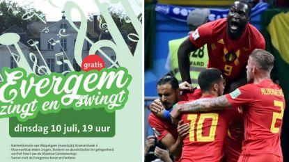Evergem schrapt Vlaams dansfeest: halve finale van Duivels krijgt voorrang