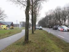 Twee gewonden bij ongeval in Den Ham, politie zoekt doorgereden automobilist