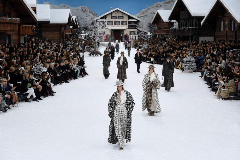 De Chanel show. Beeld AFP