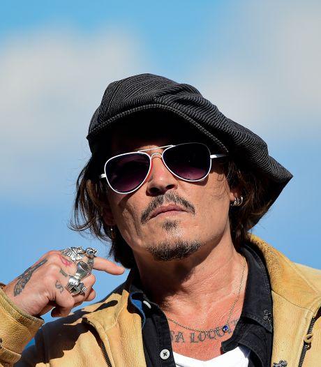'Johnny Depp heus geen persona non grata in Hollywood'