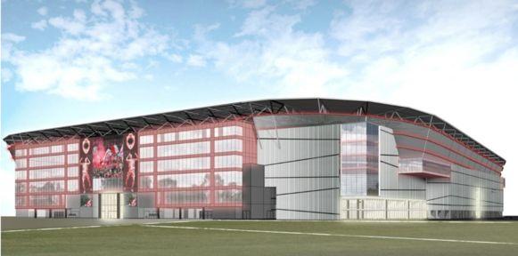 Zo zal het nieuwe stadion van Royal Antwerp FC eruitzien