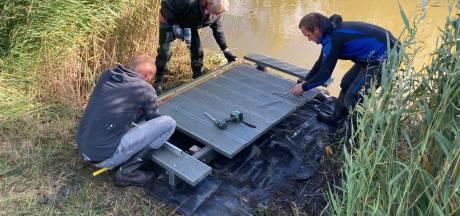 Goed nieuws voor de 3500 hengelaars in de Hoeksche Waard: zeven nieuwe vissteigers