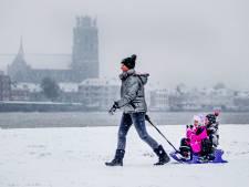 Tijd voor sneeuwpret: 'Ik hou van sneeuwballen gooien, als ik ze maar niet in mijn gezicht krijg!'