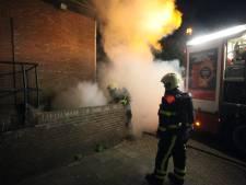 Kelderdeur van horecagelegenheid in Rijen vliegt in brand, vermoedelijk aangestoken