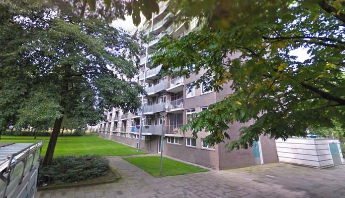 Een van de flats aan de Hoogheem.