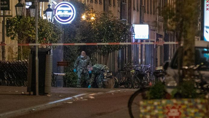 Voor de tweede maal binnen 24 uur is er een handgranaat aangetroffen in de Spuistraat.
