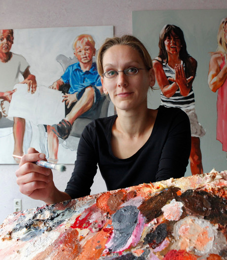 Kunstenaars in de race voor portretprijs