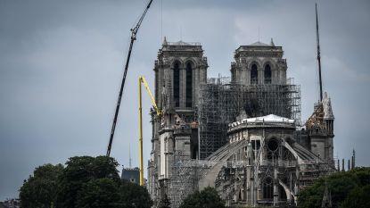 Muren Notre-Dame dreigen bij wind van 90 per uur in te storten