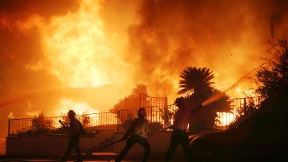 Honderdduizend bewoners in Californië geëvacueerd door bosbranden