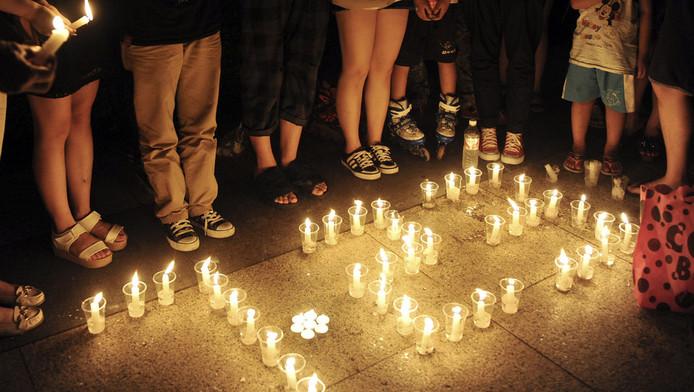Nabestaanden herdachten deze week de slachtoffers van het treinongeluk, afgelopen zaterdag.