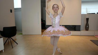 Ballerina Amber (11) naar New York