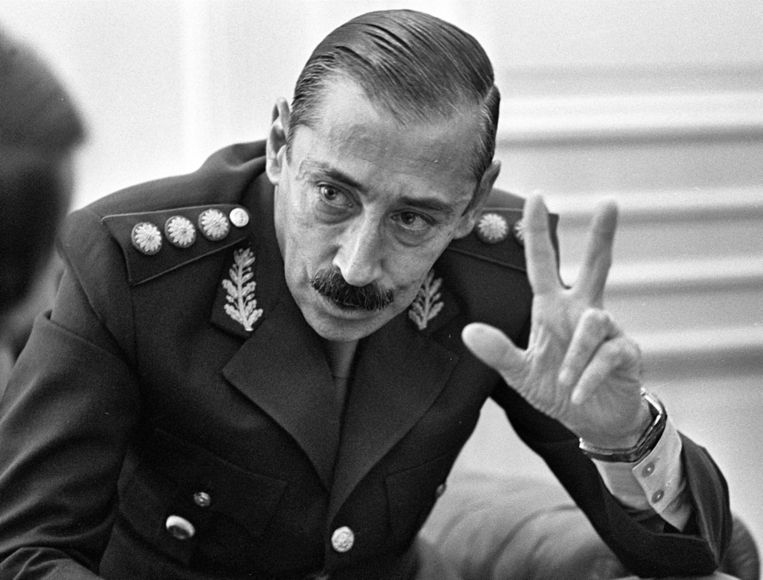 Jorge Rafael Videla in 1978. Beeld ap