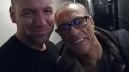 Op filmset naast Jean-Claude Van Damme
