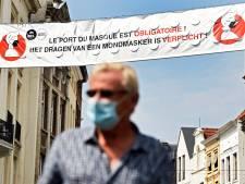 Dans la région de Charleroi, le port du masque obligatoire se répand