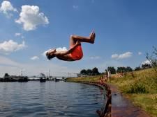 Zwemmen in Eem afgeraden maar niet verboden