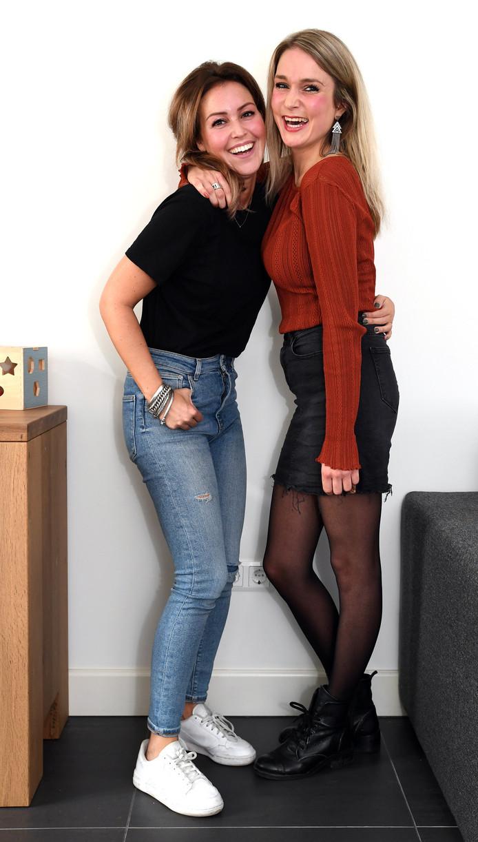 Rosanne Verbruggen en Marlot Anemaat wonen een eindje bij elkaar vandaan, maar proberen toch regelmatig af te spreken.