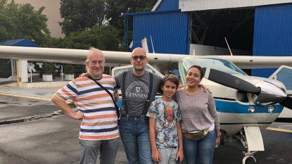 """Belgen crashen met Cessna op huis in Argentinië: """"Ons vliegtuig total loss, wij enkel schrammen en verstuikte duim"""""""