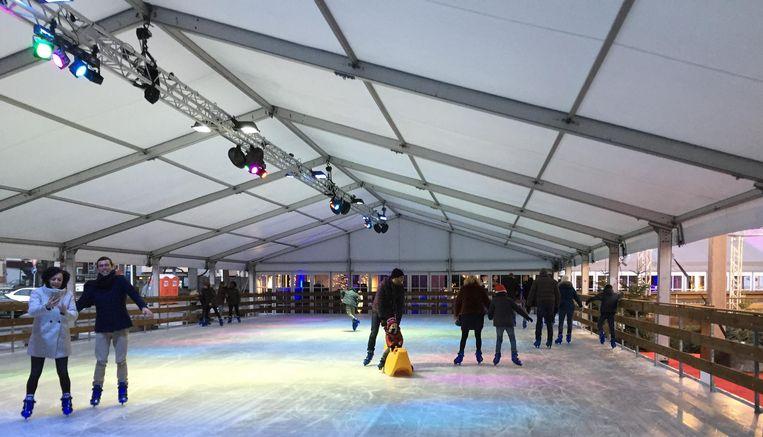 Er kwamen bijna 12.000 schaatsers naar de ijspiste tijdens Wintermagie.