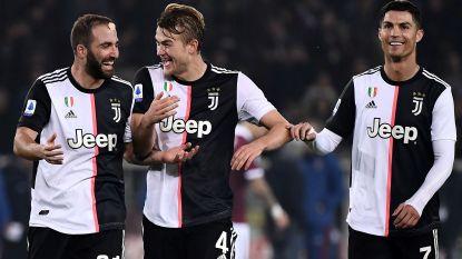 Ronaldo en De Ligt ondanks lichte blessures toch in selectie Juventus tegen Atlético